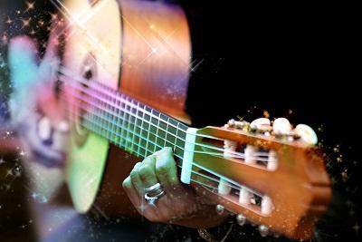 играть на гитаре изображение